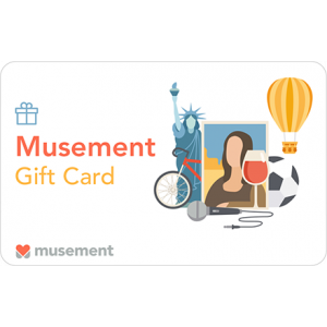 Gift Card Musement Carta Regalo
