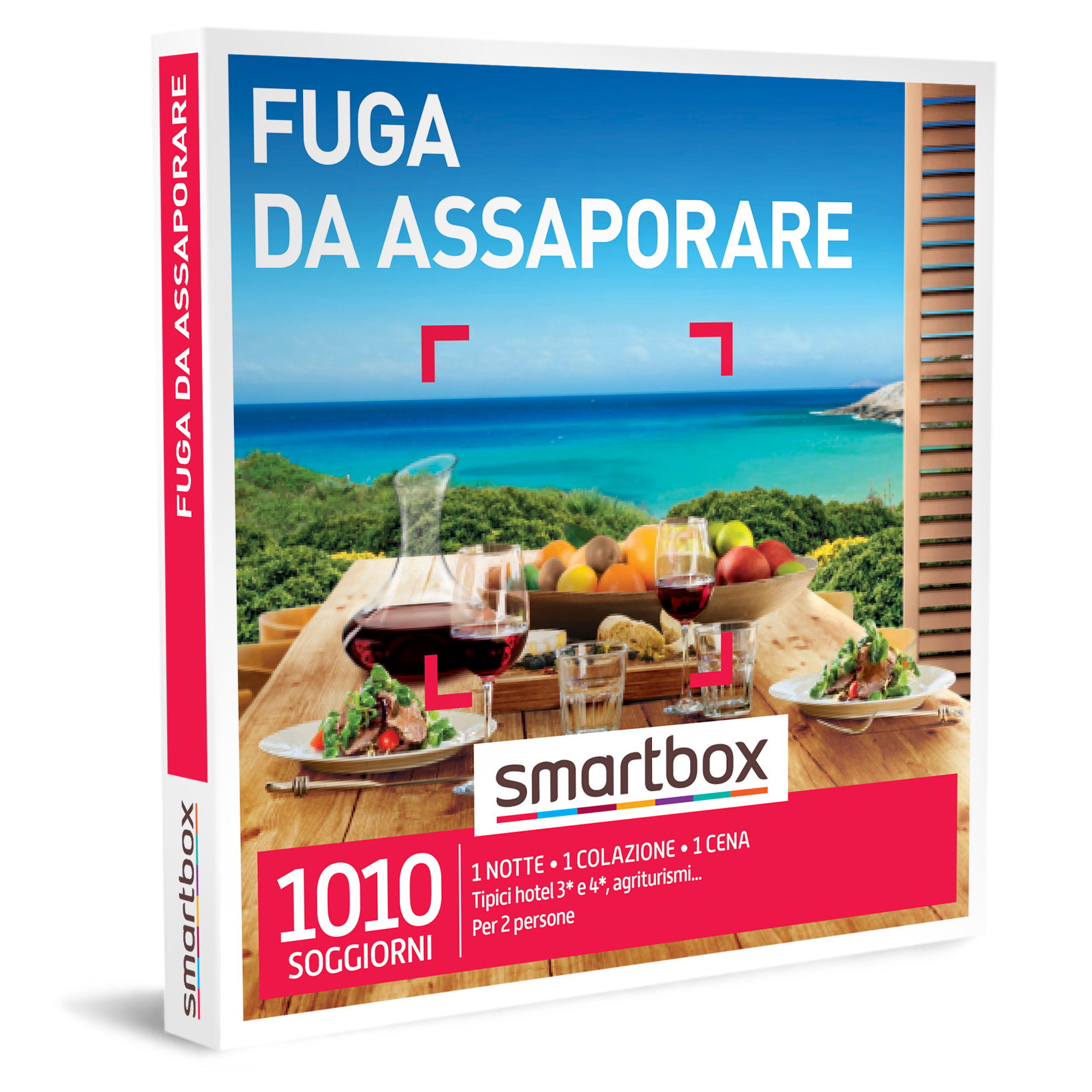 Smartbox e-box Fuga da Assaporare €89,90