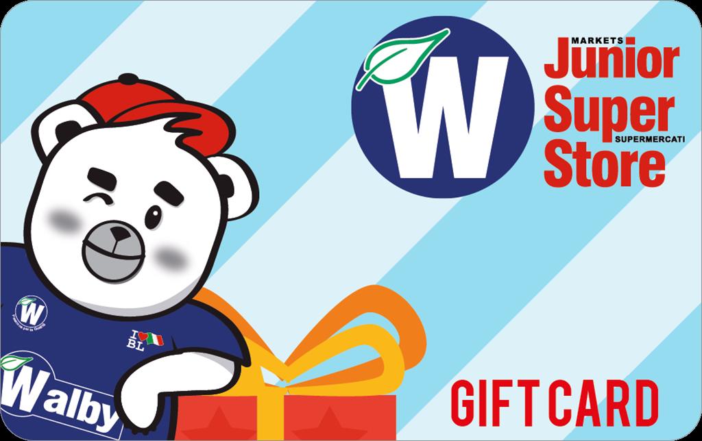 Gift Card Walber