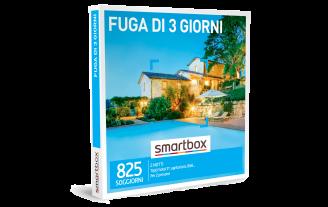Smartbox e-box Fuga di 3 Giorni €89,90