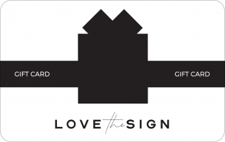 Gift Card Lovethesign